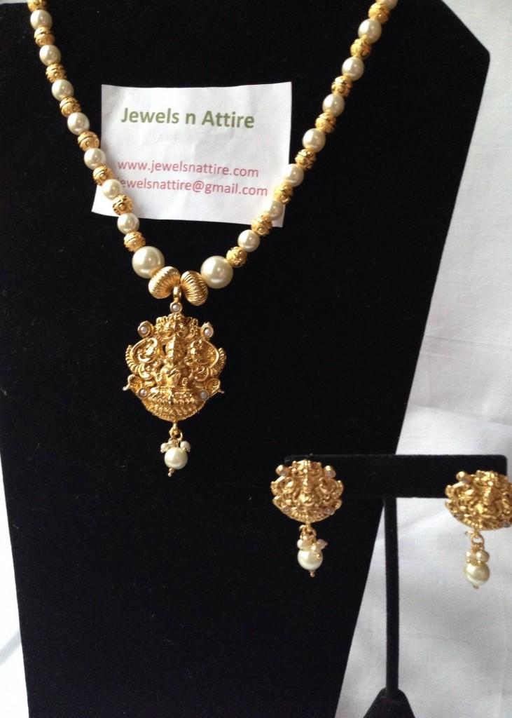 Lakshmi Pearl set $25