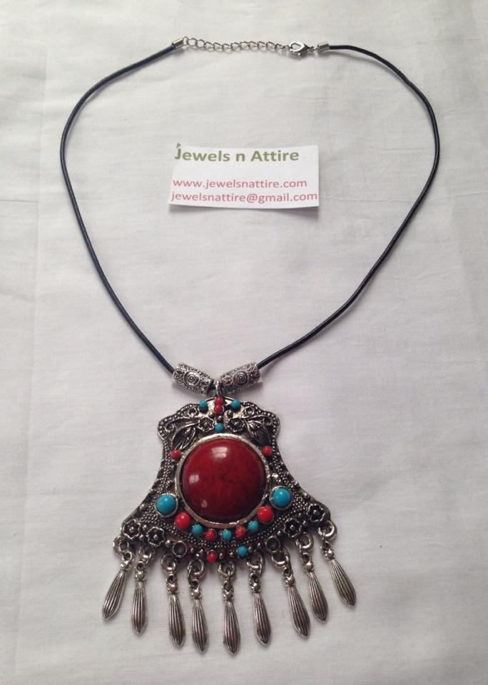 Red and Blue pendant