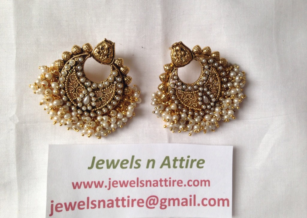Chand Lakshmi pearl Earrings