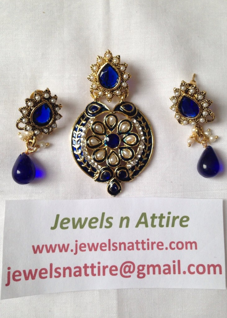 Royal Blue Pendant Set